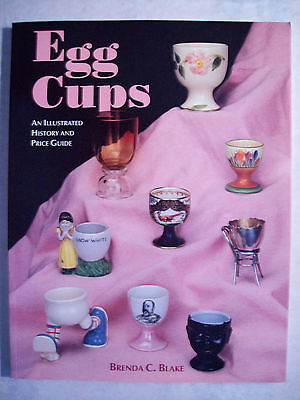 VINTAGE EGG CUPS PRICE GUIDE COLLECTIBLE BOOK Metal Glass Figural Ceramics Deco