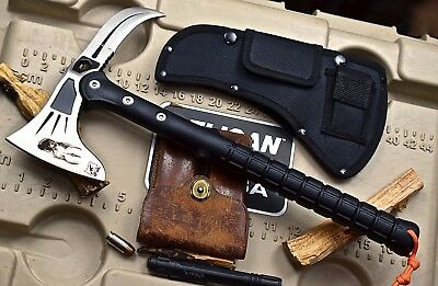 CFK iPak Custom CNC Tactical Stainless ABS Handle Axe Tomahawk EAGLE-CLAW Knife