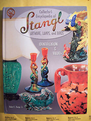Stangl Pottery Price VALUES Guide Collector Book lamps birds stoneware + more