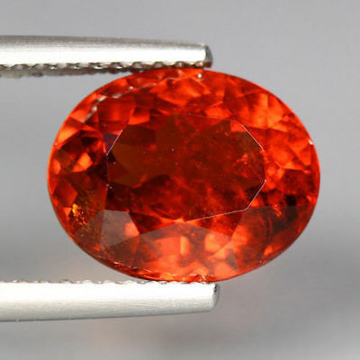 5.37 Cts_Unbelievable Rare To Find_100 % Natural Spessartite Garnet_Srilanka