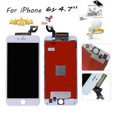 """For iPhone 6s 4.7"""" White LCD Display Touch Screen Digitizer Assembly Replacement"""