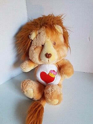 Vintage Care Bear Braveheart Carebear Cousin 1984 American Greetings Plush Toy