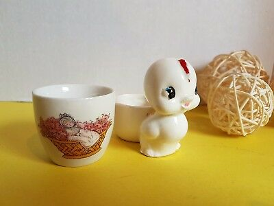 Vintage Lot of Egg Cups Chick and Made in England