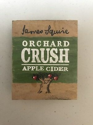 James Squire Orchard Crush Wooden Beer Decal