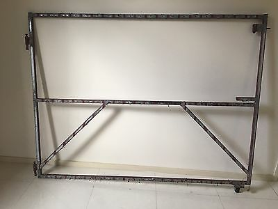WIDE STEEL GATE FRAME 1300 x 1735 mm (W) STRONG 25 x 25 Tubing
