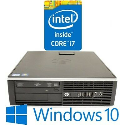 HP Elite 8200 SFF Desktop Core i7 2600 8G 500G DVDRW Windows 10 Pro