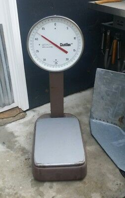 Chatillon Type 13 Mechanical Bench Scale Model BP 13-50T 50 lbs 2 ozs capacity