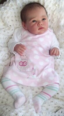 REBORN BABY GIRL PORSHA by ROMIE STRYDOM~LITTLE BLOSSOMS NURSERY