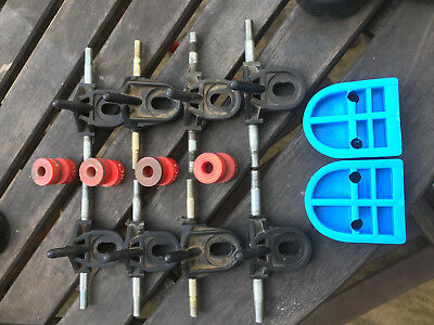 Assorted Bauer Quad Roller Skate Spares Roces Supreme Trucks Plates Turbo 33