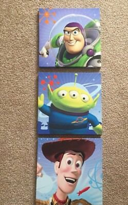 """TOY STORY 10"""" x 10"""" CANVAS PICTURE SET"""