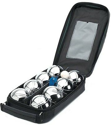 Parkland Set of 8 Steel French Boules Garden Game Set