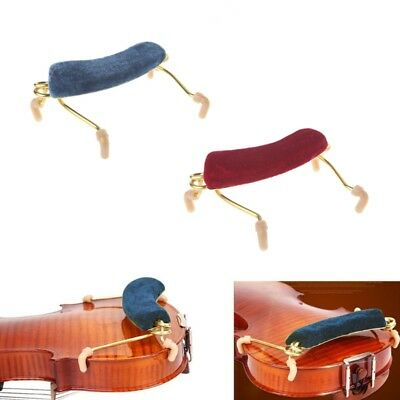Metal Spring Violin Shoulder Rest Support Pad For 1/2 Violin Instrument Tool