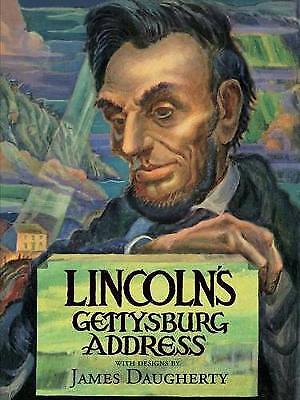 Lincoln's Gettysburg Address,HC,Abraham Lincoln - NEW