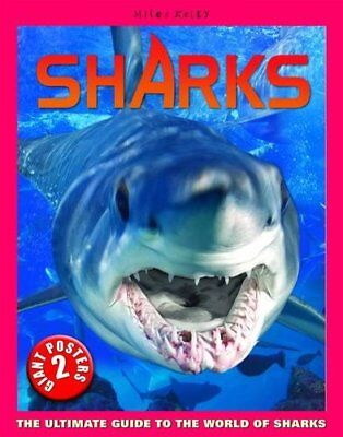 Sharks Poster Book,SB,Anna Claybourne - NEW