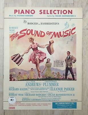 The Sound of Music Piano Sheet Music Booklet 1959/1960