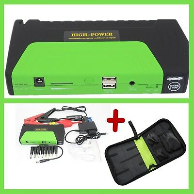 Car Jump Starter Batery Charger High Capacity Power Bank Booster 50800 mAh 12 V