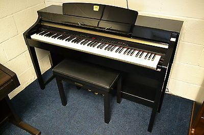 Yamaha CLP-370PE Piano, Excellent Condition, Free UK Mainland Delivery, Warranty