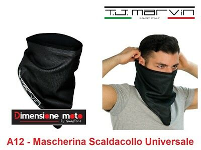 "A12 - Mascherina Scaldacollo ""T.J. Marvin"" Antiacqua/Antivento reg. con Velcro"