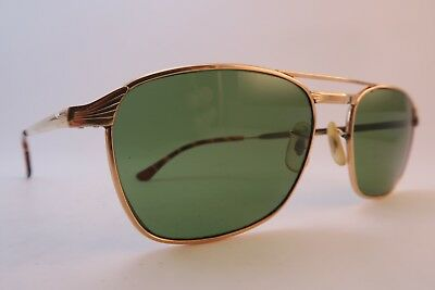 Vintage 60s sunglasses gold filled OXFORD Doublé Or Laminé made in France
