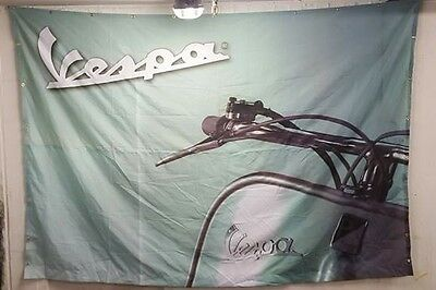 Vespa Flag / Vespa Banner BIG 2x3 meter from dealership