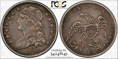 *BEAUTIFUL 1833 CAPPED BUST QUARTER - A REAL LOOKER! - XF-40 by PCGS*