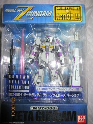 MS IN ACTION MSZ-006-3 Zeta Gundam Green Divers (Japan Import)