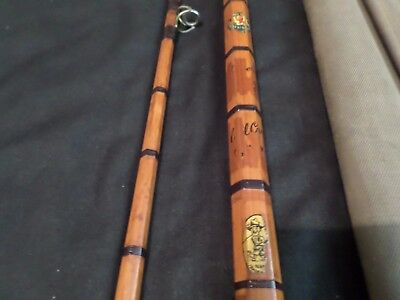 used fishing,vintage,elasticane 10ft fishing rod.good condition.