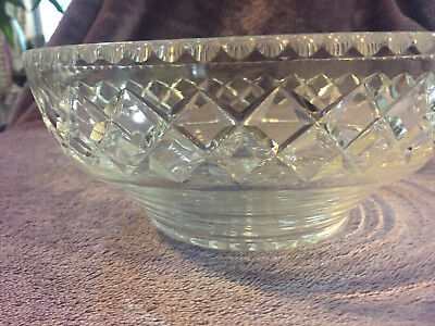 Antique Waterford Crystal Bowl 1934