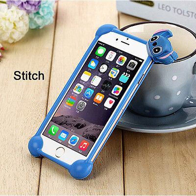 All 4-6 Inches Phone Bumper Soft Silicone Phone Case Protective Covers Universal