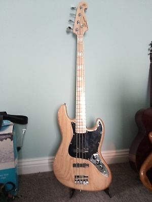 SX Jazz Bass with upgrades plays fantastic