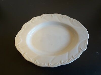 Hartley Green and Co Leeds Pottery Oval Shaped Dish Pin dish