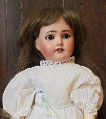 Gorgeous 16 Inch Limoges Jointed Girl.