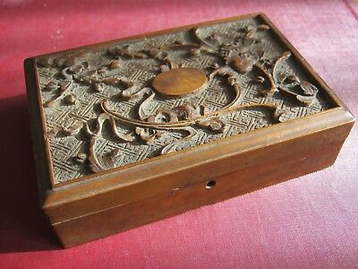 Chinese carved box - Early 20th century