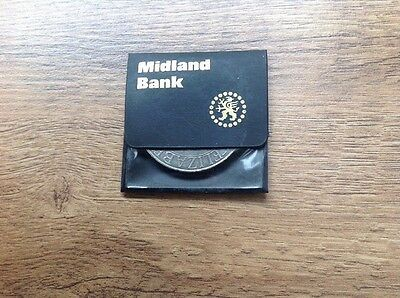 Midland Bank Silver Jubilee Coin 1977
