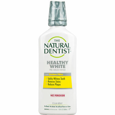 The Natural Dentist Healthy White Pre-Brush Rinse - 16.9 fl oz Clean Mint