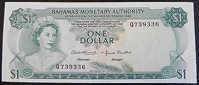BAHAMAS - 1 dollar - 1968 - Pick 27a