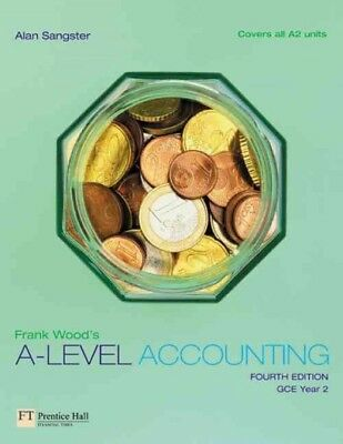 Frank Wood's A-Level Accounting, Alan Sangster