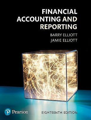 Financial Accounting and Reporting, Barry Elliott