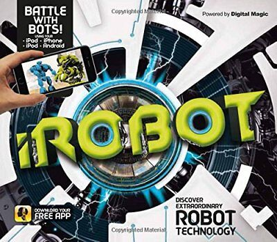 iRobot (Augmented Reality Book),HC,Clive Gifford - NEW