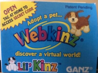 Webkinz Golden Retriever HS010 NEW Unused CODE ONLY No Plush No Shipping New
