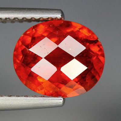 2.80 Cts_Unbelievable Top Rare To Find Color_100 % Natural Spessertite Garnet
