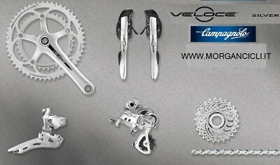 Gruppo Completo CAMPAGNOLO VELOCE SILVER 2x10 GROUPSET 2017 10s