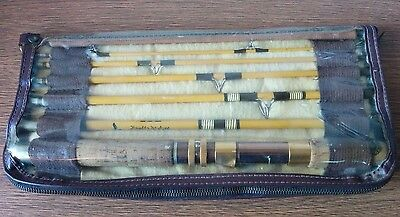 "Vintage Fishing Rod Pole Eagle Claw Trailmaster 6'9"" Wright Mcgill 6 Piece case"