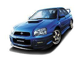 MANUALE OFFICINA SUBARU IMPREZA WRX STI my 2004 WORKSHOP MANUAL mail