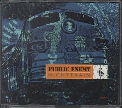 PUBLIC ENEMY Nighttrain  CD 4 Tracks, Pete Rock Get Up Get Into It Get Involved