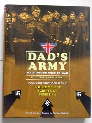 DAD'S ARMY BOOK. COMPLETE SCRIPTS of SERIES 1 to 4.  BBC TV. 456 x PAGES. MINT !