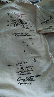 Fabulous HOBBIT tshirt made by WETA; new, never worn. Great collectible! Medium.