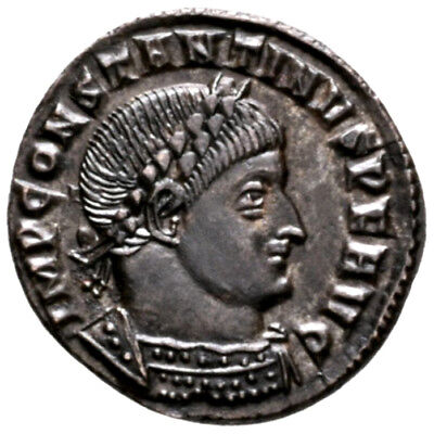 CONSTANTINE THE GREAT (316 AD) Scarce Follis. Ticinum #MA 9327