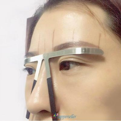 Pinceau à sourcils permanent Microblading Measure Maquillage Tattoo Ruler outil