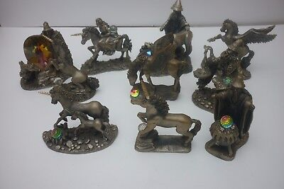 11 Asstd Tudor Mint Myth & Magic Wizards~Unicorns~ Pegasus~See Below~Vgc